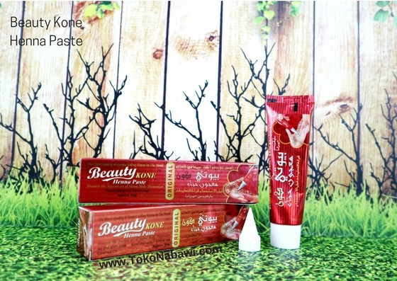 Beauty Kone Henna Pasta / Henna Tangan / Henna India / Henna Body Decoration